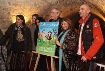 Tvůrčí tým připravovaného muzikálu Adam a Eva
