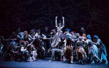 Choreografie je jednou z nejpovedenějších složek muzikálu