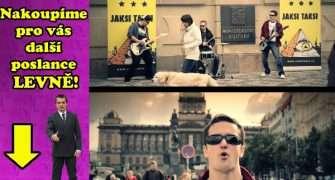 Pop-punkeři Jaksi Taksi zvou k volbám. Podívejte se na jejich nový videoklip