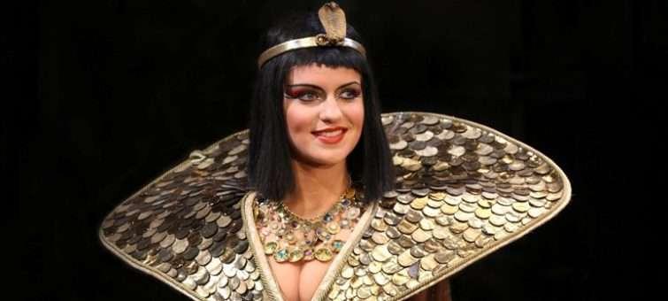 Gunčíková se stane Kleopatrou