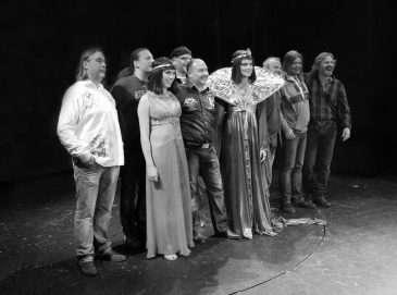 Část týmu oblíbeného muzikálu Kleopatra