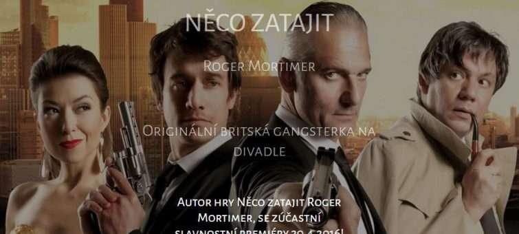 Britský autor Roger Mortimer je v Praze. Již dnes podpoří první české uvedení své hry Něco zatajit
