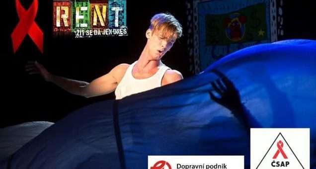 Herci muzikálu RENT podpoří boj proti AIDS
