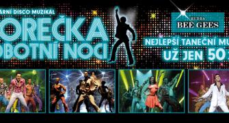 Muzikál Horečka sobotní noci: roztančete se s jarní slevou 200 korun
