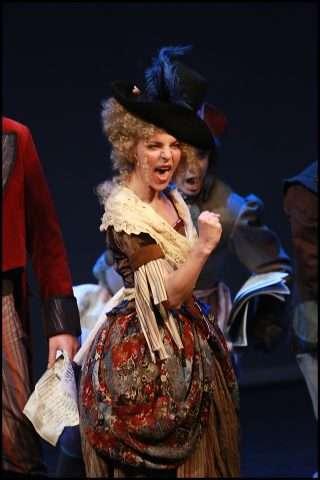 Bára Chybová v muzikálu Antoinetta - královna Francie / foto: Petr Marek