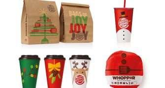 Restaurace Burger King spustila prodej limitovaného vánočního menu i svátečních balení