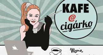 Marie Doležalová zve na Kafe a cigárko. Knižní podobu oblíbeného blogu pokřtí Ivan Trojan