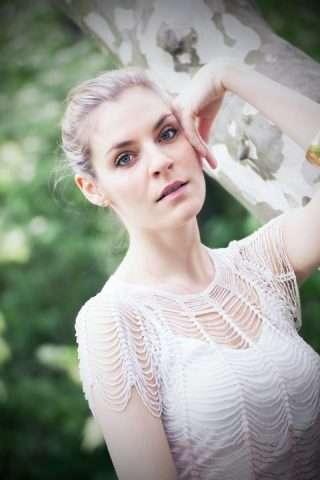 V muzikálu Touha ztvárňuje nechápavou Haničku / foto: Petr Marek