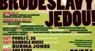 Pozvánka: Brodeslavy jedou – festival na konci léta
