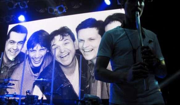 Chinaski pokřtili v klubu Lucerna Music Bar svou novou desku Rockfield