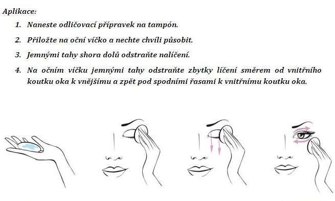 DERMACOL TRIO: tip pro perfektní odlíčení očí