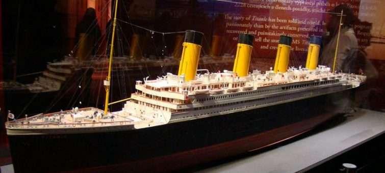 Výstava Titanic: dotkněte se osudového ledovce a odneste si domů Srdce oceánu
