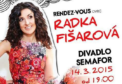 Radka Fišarová zve na rendez-vous do Divadla Semafor