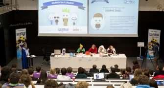 Kandidáti na krále Majálesu debatovali o uplatnění studentů v práci i o pařbách