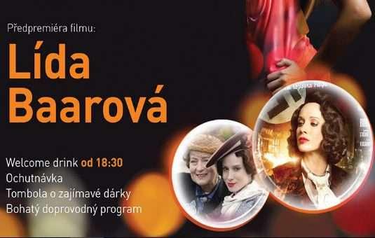 Ladies Night v Cinema City nabídne předpremiéru očekávaného snímku Lída Baarová