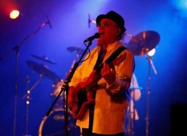 Petr Janda na jednom ze svých koncertů