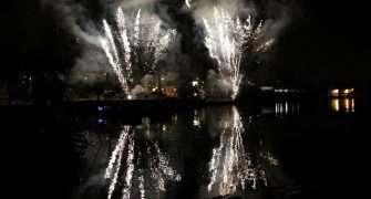 Pyrofest: Žluté lázně nabídly plejádu koncertů a světelnou show