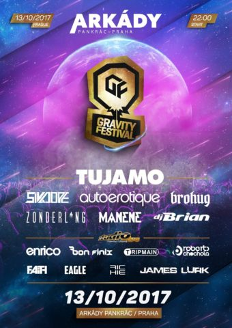 Line-up Gravity festivalu