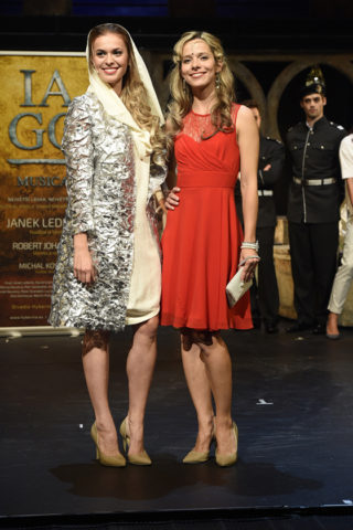 Dvě Desdemony (Dominika Richterová a Lucie Černíková)