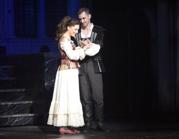 Ivana Korolová a Daniel Barták v muzikálu Mefisto