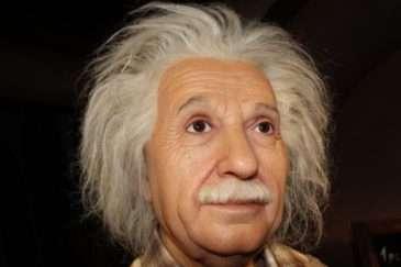 Albert Einstein zblízka