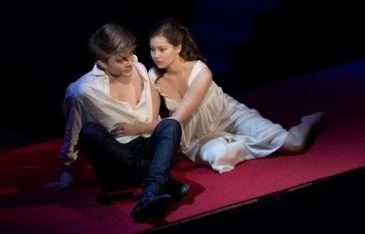 Se Sabinou Rojkovou v inscenaci Romeo a Julie