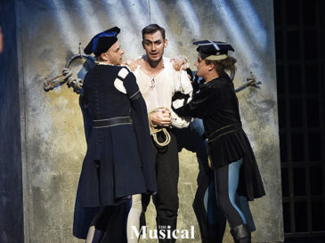 Daniel Barták v muzikálu Mefisto
