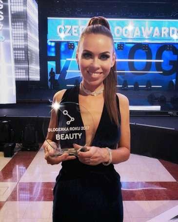 Ocenění pro beauty blogerku roku 2017