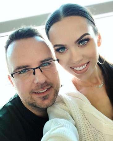 Petra se svým manželem Mírou Čížkem
