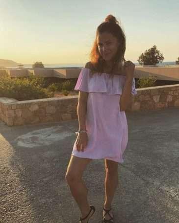 Ivana Korolová v Řecku