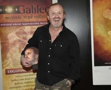Josef Vojtek si zahraje v muzikálu Galileo