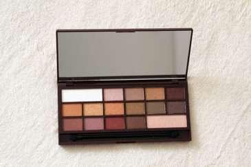 I♥MAKEUP čokoládová paletka očních stínů Golden Bar