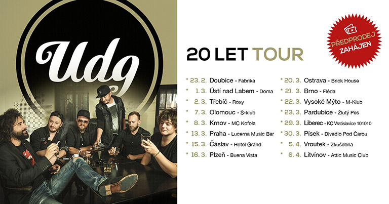 20 let tour UDG