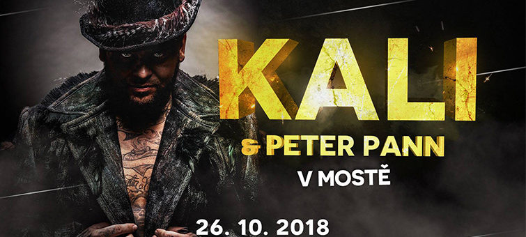 Kali a Peter Pann odehrají koncert v Mostě.