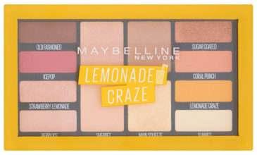 Lemonade Craze paleta očních stínů