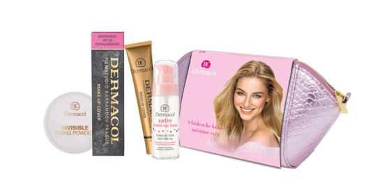 Dermacol Make-up Cover (odstín č. 208 ), satin báze a fixační pudr