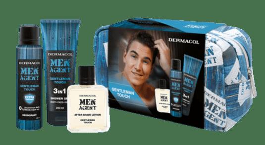 Men agent gentleman touch - sprchový gel, deodorant, voda po holení