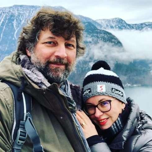 Herečka Dana Morávková si s manželem užívají nádhernou přírodu v rakouském Hallstattu