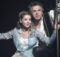 Sabina Laurinová a Janek Ledecký v muzikálu Galileo