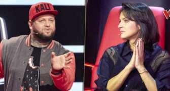 Jana Kirchner a Kali v The Voice Česko Slovensko.