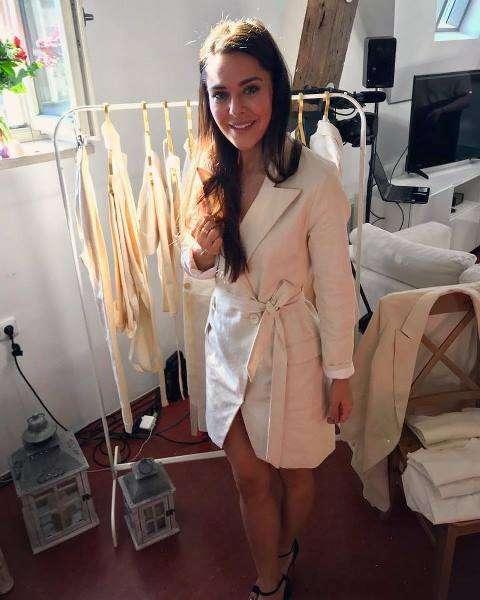 Dominika Býmová má první kolekci oblečení