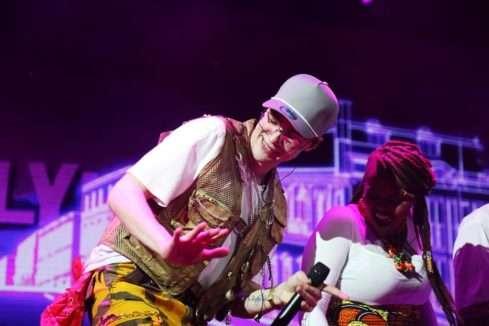 Mikolas si na koncert pozval africké vokalisty
