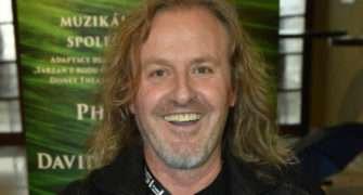 Josef Vojtek zkouší muzikál Tarzan