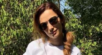 Marika Šoposká je podruhé těhotná