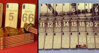 Každý hráč Liverpoolu dostane zlatý 24k iPhone X