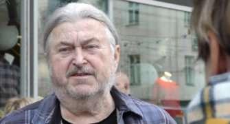 František Ringo Čech řádil na oslavě Karla Gotta
