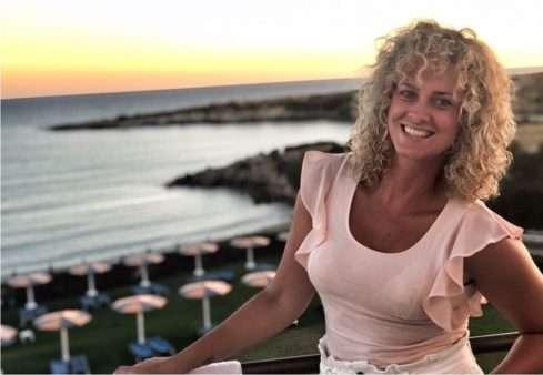 Herečka Kateřina Sedláková dobíjí baterky na dovolené