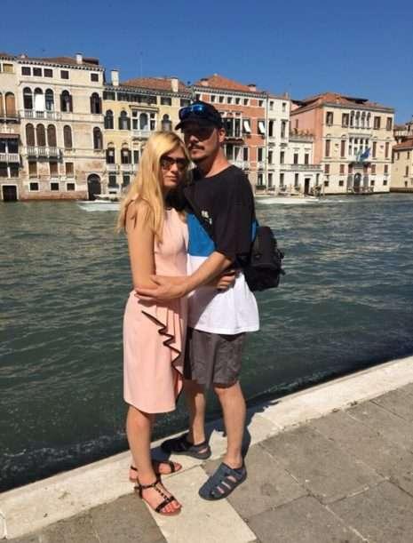 Bohuš s přítelkyní v Benátkách