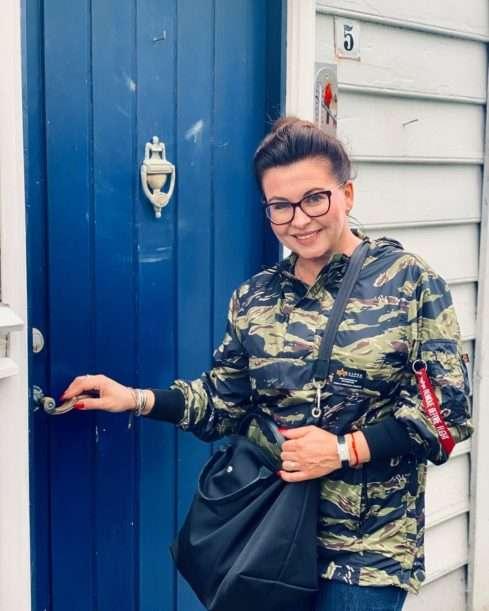 Dana Morávková na dovolené v Bergenu