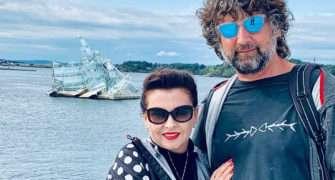 Dana Morávková a Petr Malásek v Norsku